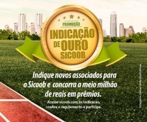 Promoção Indicação de Ouro Sicoob