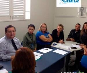 Rômulo Soares, se reune com a Comissão da Mulher do Órgão